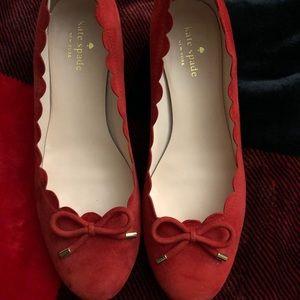 Kate Spade platform shoes